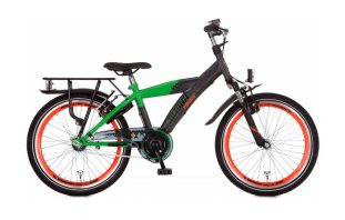 Alpina Yabber J20 Industrial Black/Bright Green