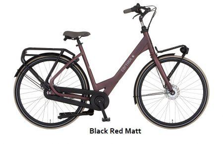 Cortina Common Family Black Red Matt