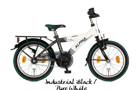 Yabber J18 Industrial Black - Pure White